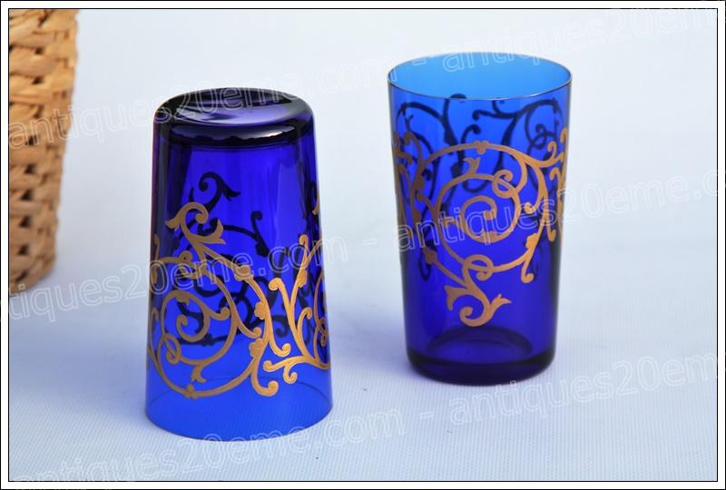 Verres gobelets cristal St Louis Baalbeck