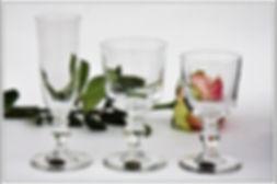 Verres du service cristal Saint Louis Manet