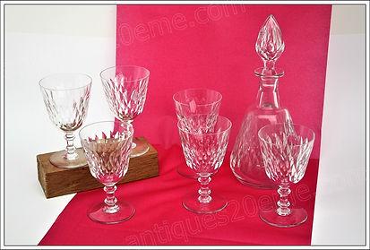 Service cristal Baccarat Armagnac