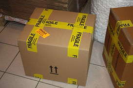 Emballage colis Antiques20ème