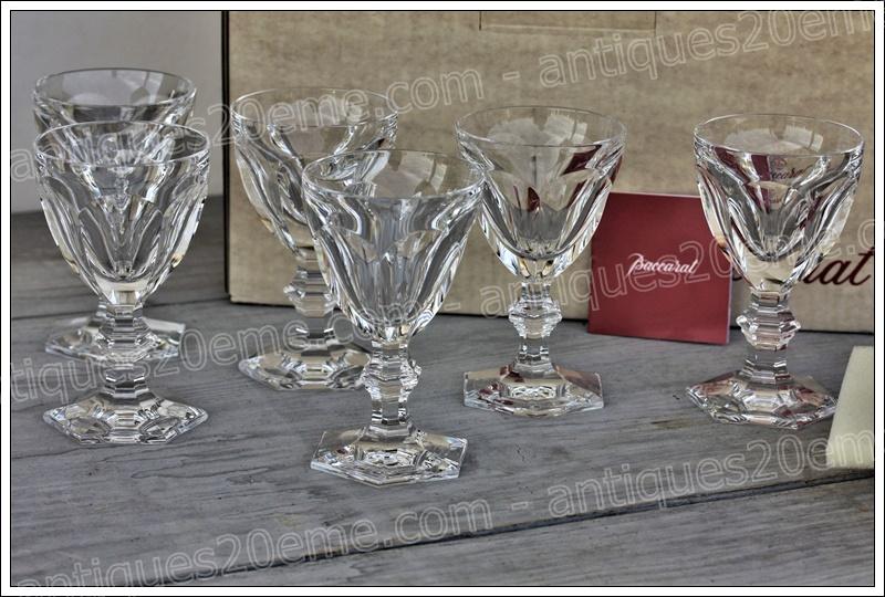 Verres cristal Baccarat Harcourt