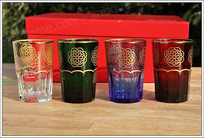 Service verres cristal Baccarat Assalah