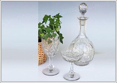 Service verres cristal Baccarat Harfleur