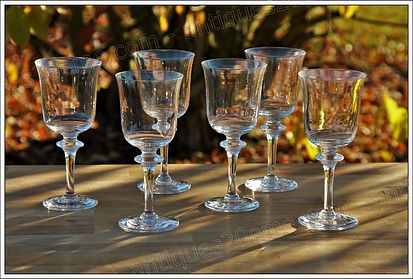 Service en cristal Daum Saumur