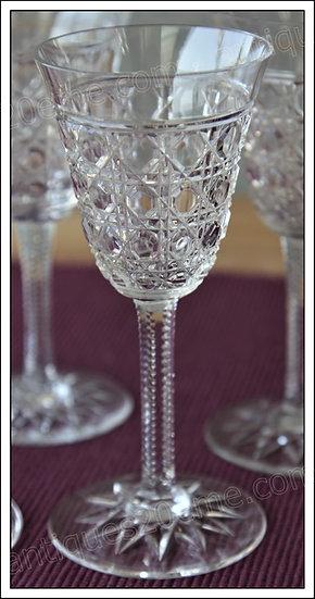 Verre à apéritif vin cuit du service en cristal de Baccarat Pontarlier, Baccarat crystal