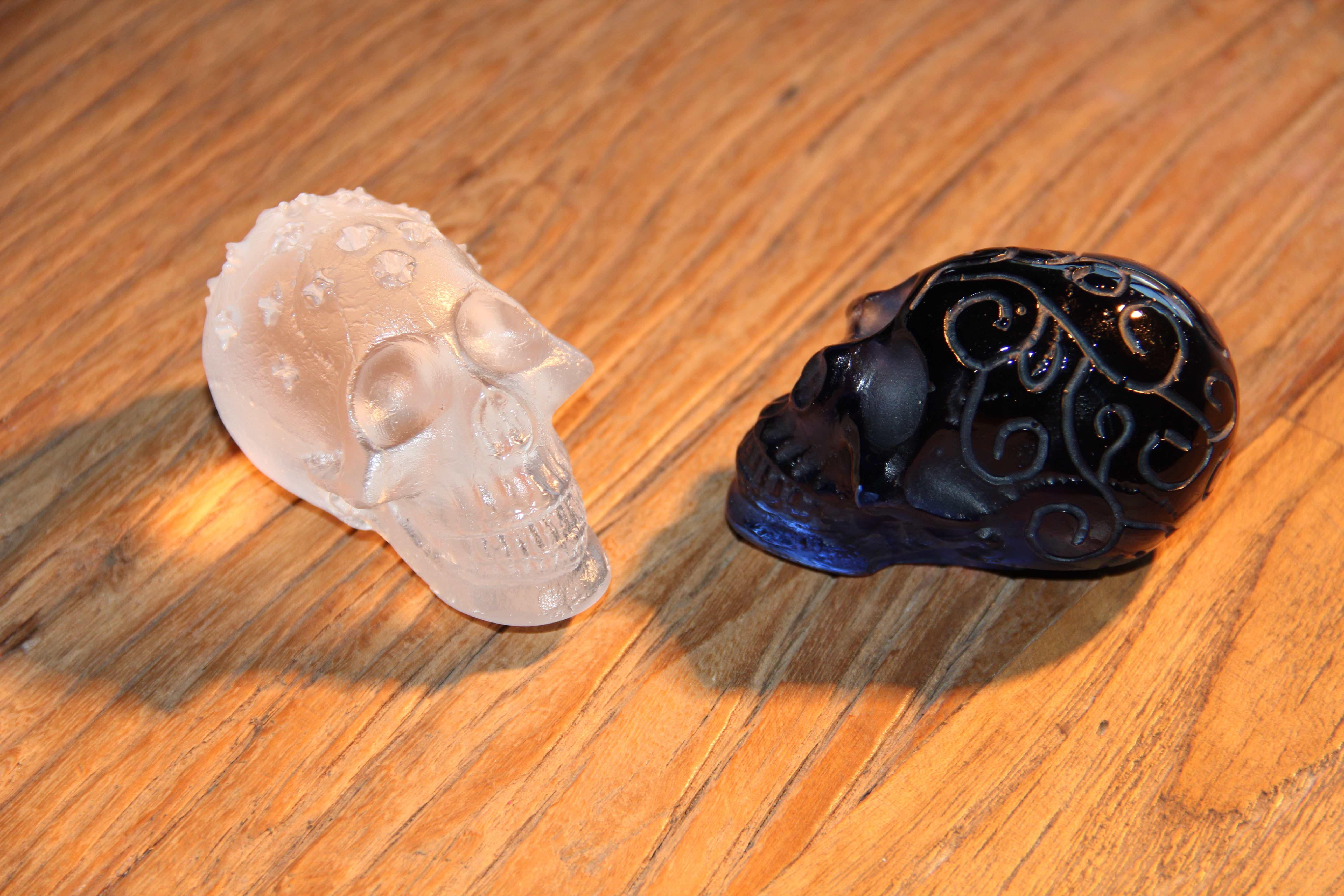 Crânes cristal Loïc Ortega