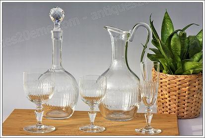 Service cristal Baccarat Renaissance