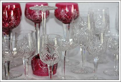 Service verres en cristal Baccarat Flandre
