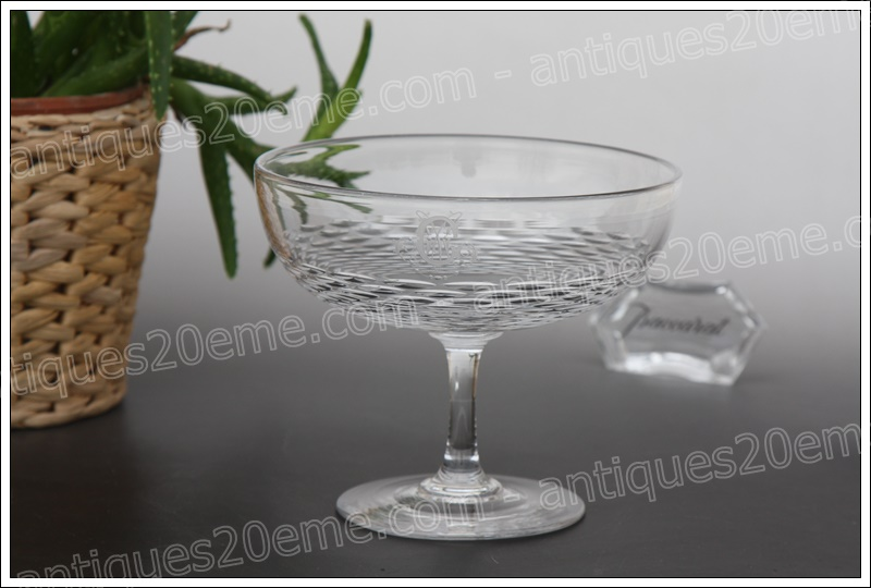 Baccarat crystal candy bowl