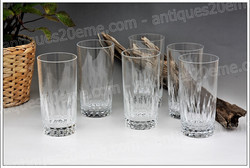 Verres cristal Baccarat Piccadilly