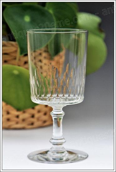 Verres à eau en cristal de Baccarat modèle service Champigny Richelieu, Baccarat crystal water glasses