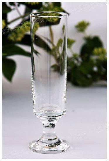 Flûtes à champagne en cristal du service Baccarat Diabolo, Baccarat crystal champagne flutes