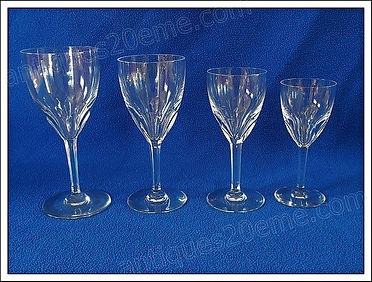 Service cristal Baccarat Genova