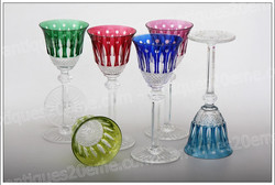 St.Louis Tommy crystal wine glasses