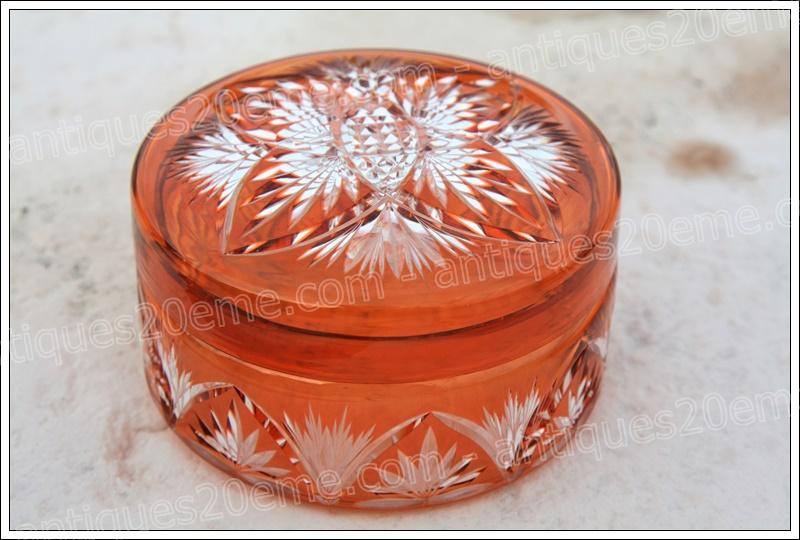 Bonbonnière cristal Baccarat