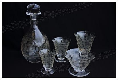 Service cristal Baccarat Elisabeth Millefiori