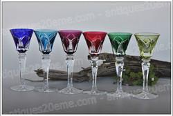 Verres à liqueur cristal St Louis Camargue