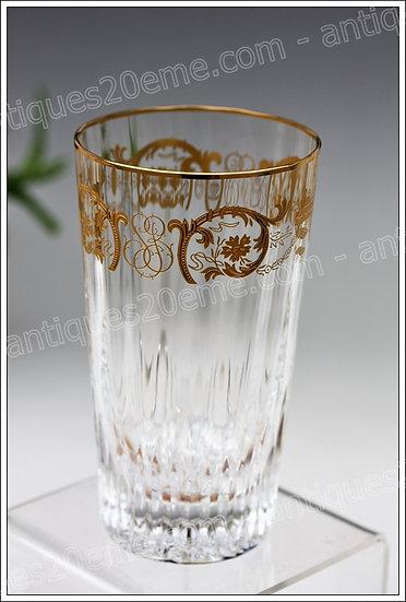 Verres chopes à orangeade en cristal Baccarat modèle Imperator, Baccarat crystal highball glasses