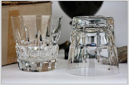 Verres service cristal Saint Louis Manhattan