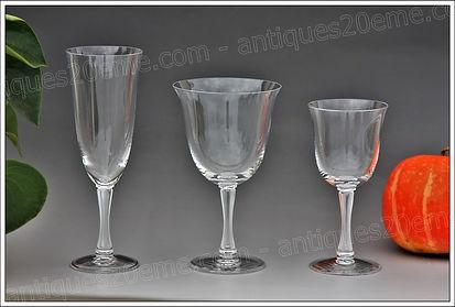 Service veres en cristal Lalique Barsac