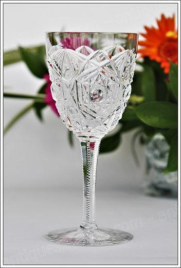 Verre à vin en cristal du service Baccarat Lagny, Baccarat crystal wine glass