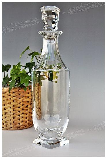 Carafe en cristal du service Baccarat Maladetta créé par Georges Chevalier, baccarat crystal carafe decanter