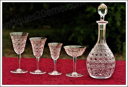 Service cristal Baccarat Pontarlier