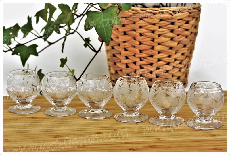 Verres cristal Baccarat Fontenay