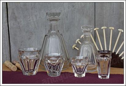 Service cristal Baccarat Talleyrand