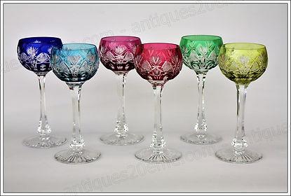 Verres service cristal Saint Louis Niepce