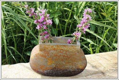 Cristal Daum Vases pâte de verre