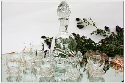 Service en cristal de Baccarat Rossini