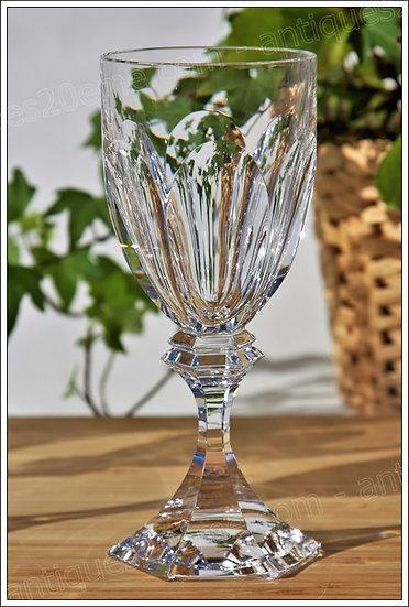 Verre à vin service en cristal Saint-Louis Chambord, St Louis crystal wine glass