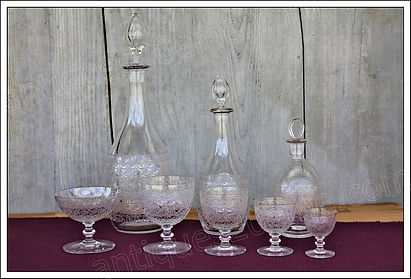 Service en cristal de Baccarat Rohan