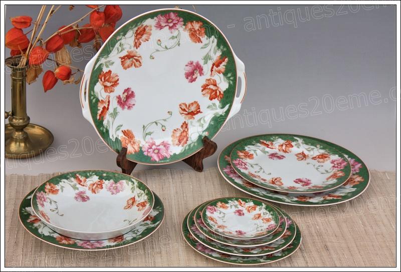 Porcelaine Limoges Bernardaud