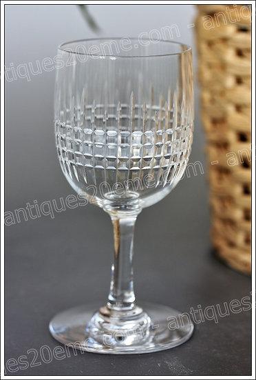 Verre à vin cuit porto en cristal du service Baccarat Nancy, Baccarat crystal port wine glass