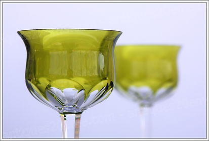 Verres cristal service Baccarat Zurich