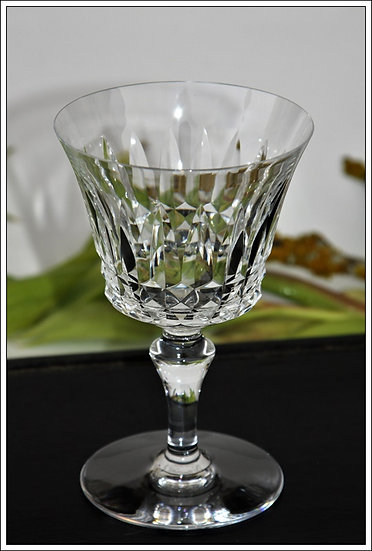 Verre à eau en cristal du service Baccarat Piccadilly, baccarat crystal water glass