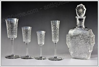 Verres cristal Baccarat Leillah