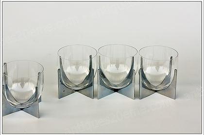 Service verres cristal Baccarat Paraison