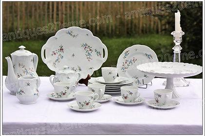 Article du service en porcelaine de Limoges Haviland Symphonie assiettes plats tasses