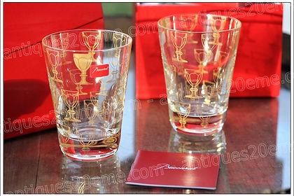 Service verres cristal Baccarat Apparat design Studio 5.5
