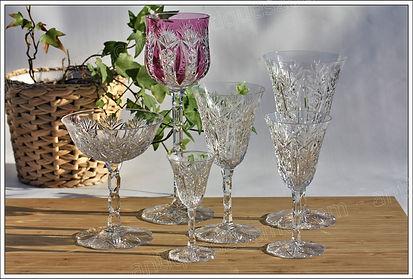 Service cristal Baccarat Condé