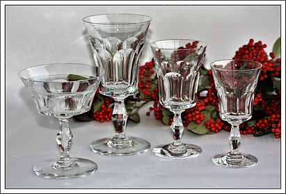 Service cristal Baccarat Lauzun