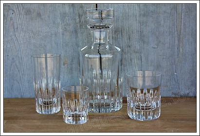 Service cristal Baccarat Rotary