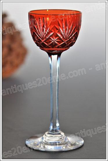 Verre à liqueur en cristal de St Louis modèle Massenet, St.Louis crystal liquor cordial glass