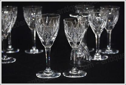 Verres service cristal Saint Louis Monaco