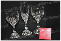 Baccarat Massena crystal glasses