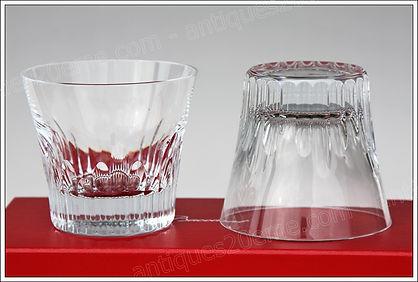 Verres service cristal Baccarat Fiora