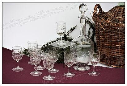 Service en cristal de Baccarat Marguerite